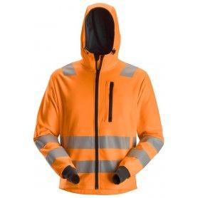 Bluza Polarowa Odblaskowa AllroundWork z kapturem, EN 20471/2/3, Snickers 8039