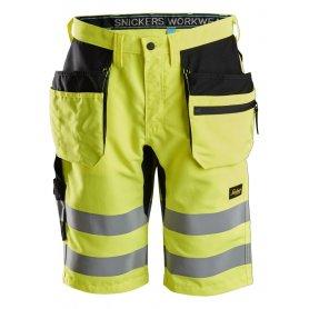 Spodnie robocze krótkie odblaskowe EN 20471/1 LiteWork+ Snickers 6131