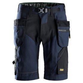 Spodnie krótkie FlexiWork+ z workami kieszeniowymi 6904 Snickers