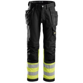 Spodnie Odblaskowe z workami kieszeniowymi, EN 20471/1 3235 Snickers