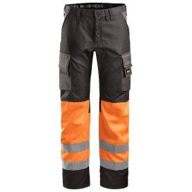 Spodnie odblaskowe, EN 20471/1 3833 Snickers