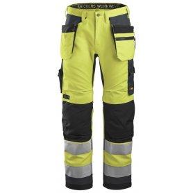 Spodnie odblaskowe AllroundWork+ z workami kieszeniowymi, EN 20471/2 6230 Snickers