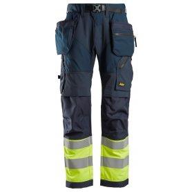 Spodnie odblaskowe FlexiWork+ z workami kieszeniowymi, EN 20471/1 6931 Snickers