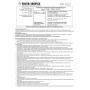Instrukcja obsługi półmaski FFP3 P3 FilterService FS-930V A NR D
