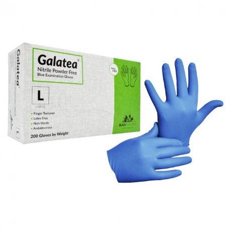 Rękawiczki nitrylowe niebieskie GALATEA 8% VAT / 200szt