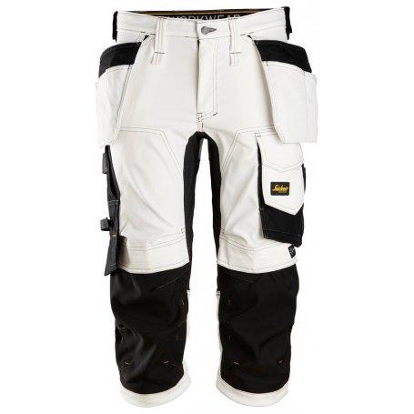 Spodnie krótkie robocze piratki Stretch AllroundWork Snickers 6142