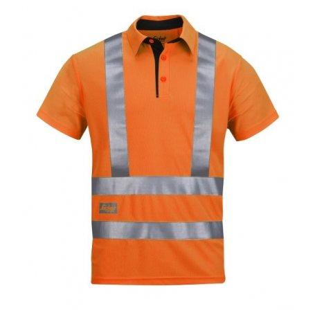 Koszulka Polo Odblaskowe A.V.S., EN 20471/2, Snickers 2743 / PRZECENA