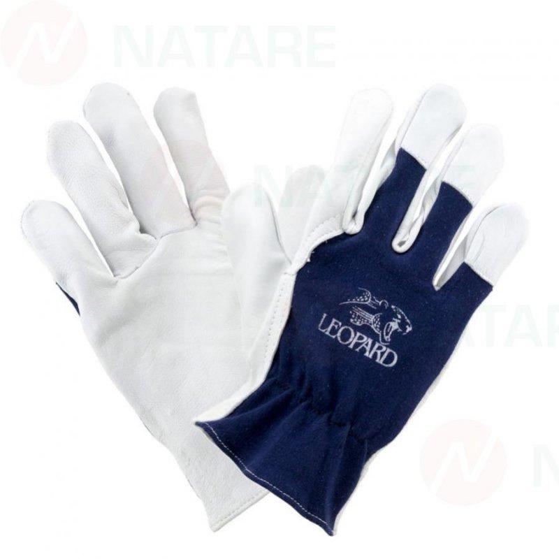 Rękawice skórzane 1201 z koziej skóry Urgent