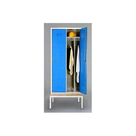 Szafki ubraniowe SZU40K2 o szerokości kolumn 400
