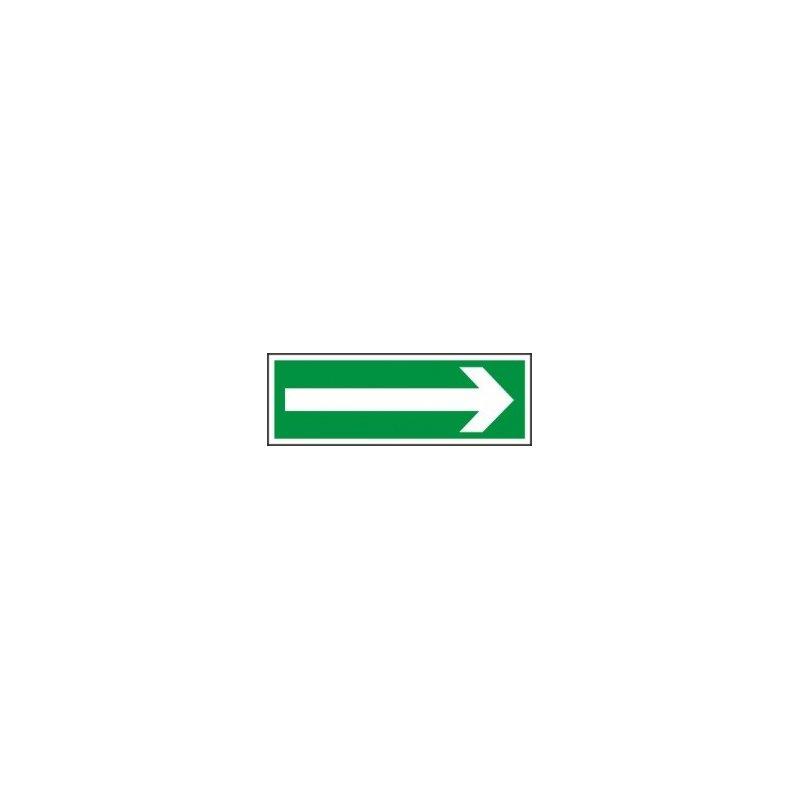 Znak kierunek do wyjścia drogi ewakuacji Z-1E