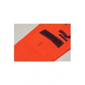 Spodnie do pasa 2-kolorowe ostrzegawcze Planam