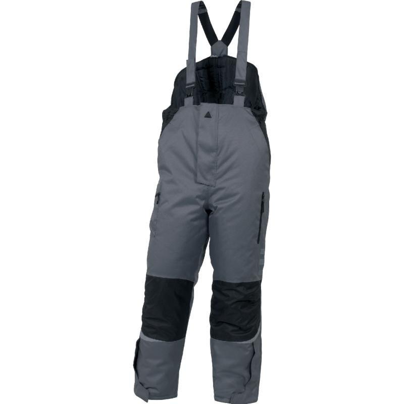 Spodnie ogrodniczki ocieplane ICEBERG dla chłodni Deltaplus