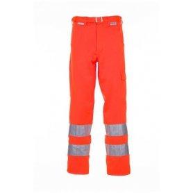 Spodnie do pasa jednokolorowe ostrzegawcze Planam