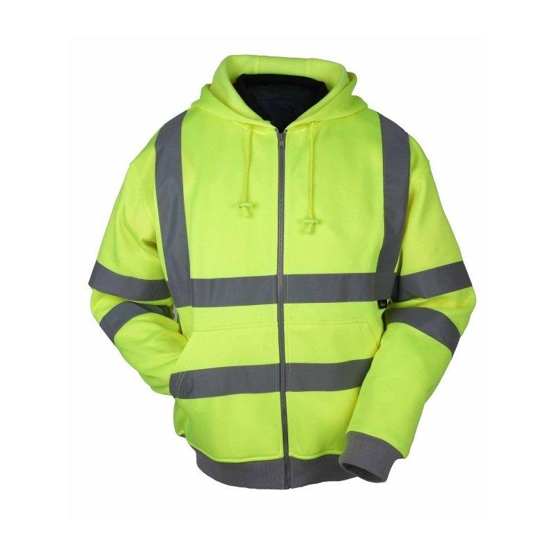 Bluza z kapturem ostrzegawcza WVFC14 Vizwell