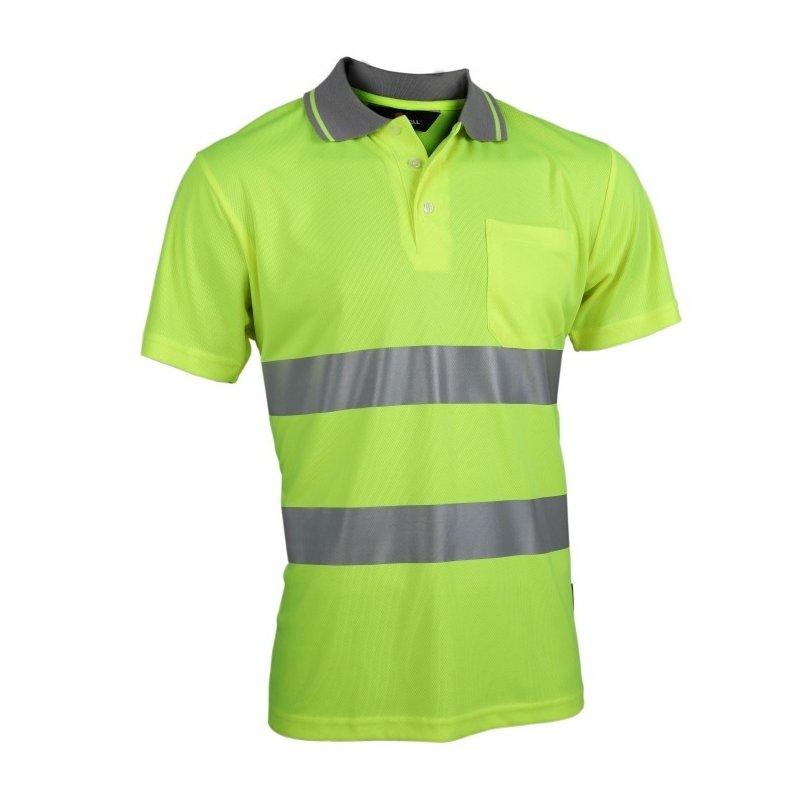 Koszulka robocza odblaskowa przewiewna VWPS01-A Vizwell