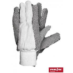 Rękawice drelichowe nakrapiane RN
