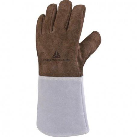 Rękawice spawalnicze TER250 skóra bydlęca Deltaplus