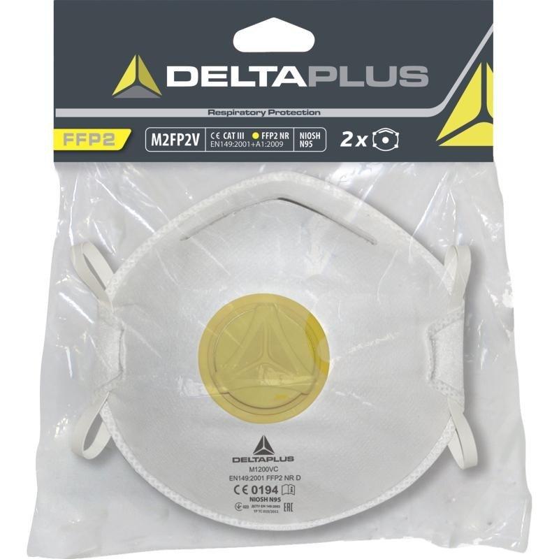 Półmaski filtrujące M2FP2V Deltaplus