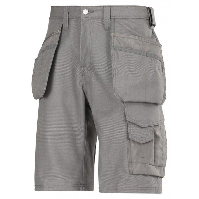 Spodnie krótkie Canvas+ z workami kieszeniowymi 3014 Snickers