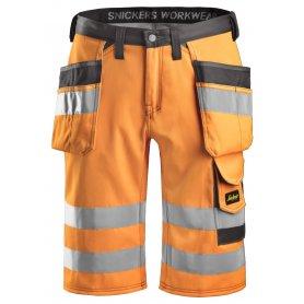 Krótkie spodnie odblaskowe EN20471/1 3033 Snickers