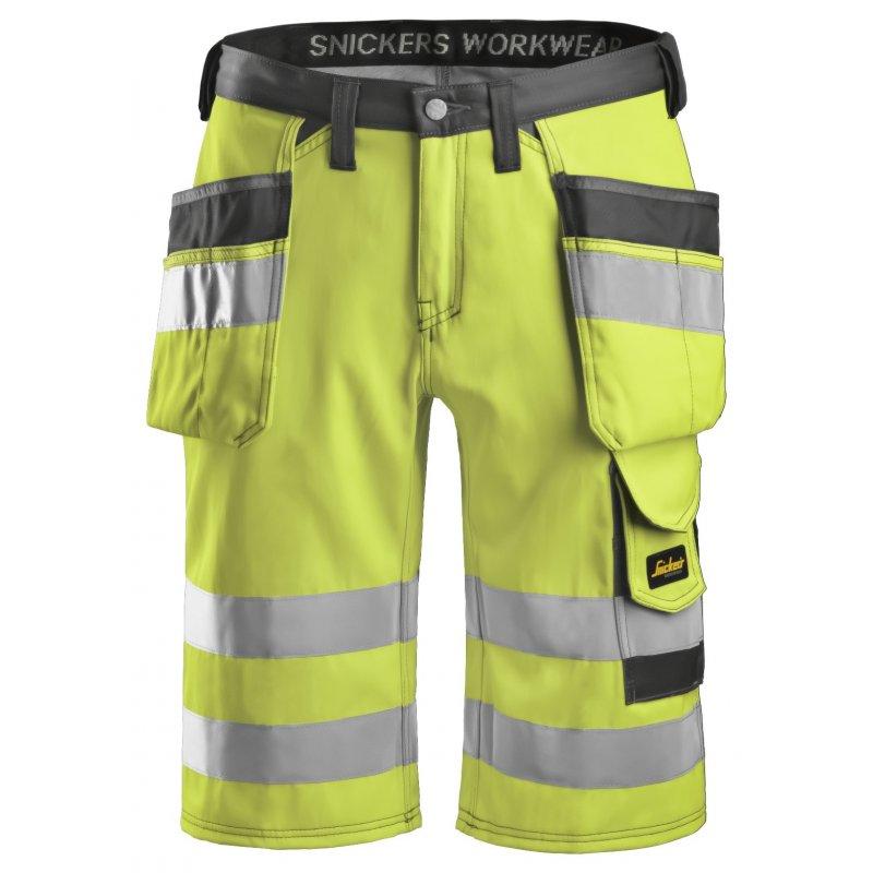Krótkie spodnie odblaskowe, EN 20471/1 3033 Snickers