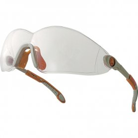 Okulary VULCANO2 CLEAR / SMOKE Deltaplus