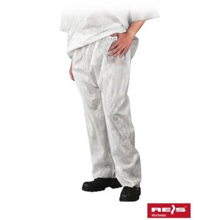 Spodnie jednorazowe polipropylenowe SFI W