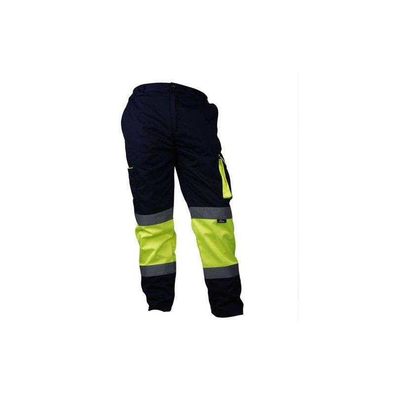 Spodnie robocze do pasa odblaskowe VWTC17-B Vizwell