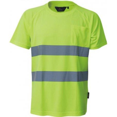 T-shirt odblaskowy ostrzegawczy VWTS01-A