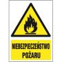 Znak ochrony PPOŻ niebezpieczeństwo pożaru ZZ-14P-3