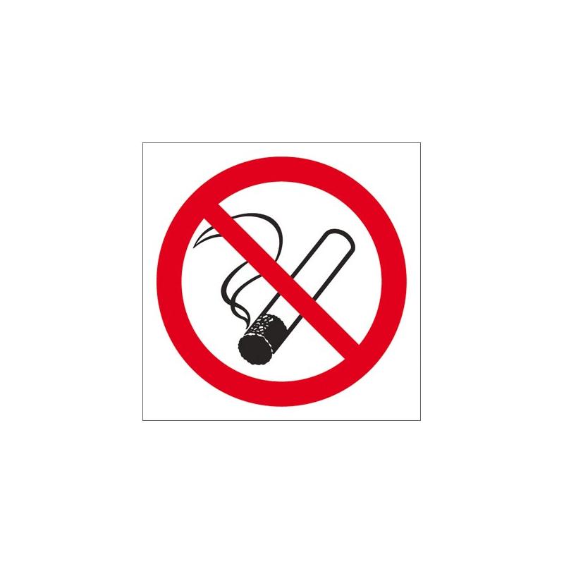 Znak ochrony ppoż palenie tytoniu zabronione Z-12P