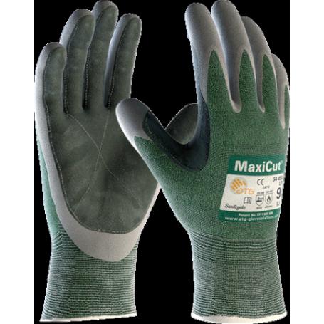 ATG Rękawice MaxiCut 34-450L do prac w zaolejonych i wilgotnych warunkach