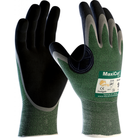 ATG Rękawice MaxiCut Oil 34-304 do pracy w zaolejonych i wilgotnych warunkach