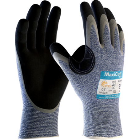 ATG Rękawice MaxiCut Oil 34-504 antyprzecięciowe