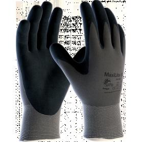 ATG Rękawice MaxiLite N 34-958 do pracy w środowisku zaolejonym