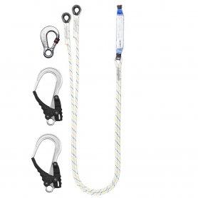 PROTEKT Amortyzator bezpieczeństwa z podwójna linką i zatrzaśnikami ABM/LB 102/AZ 003/2XAZ 029
