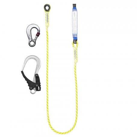 PROTEKT Amortyzator bezpieczeństwa z linką nieregulowaną i zatrzaśnikami ABM/LB 101 HV/AZ 003/AZ 029
