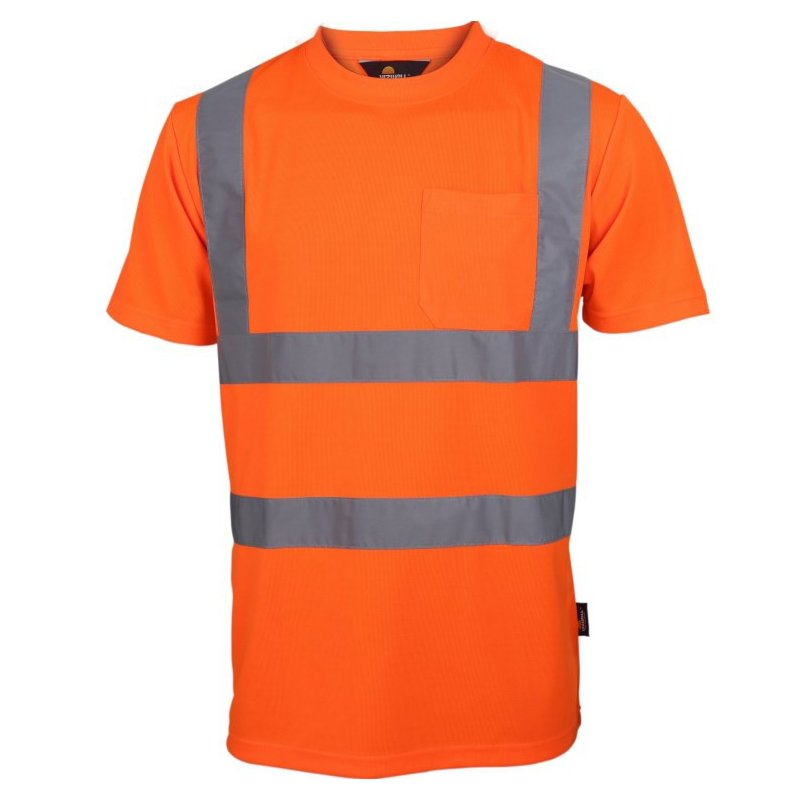 VIZWELL T-shirt ostrzegawczy o intensywnej widzialności VWTS03-B