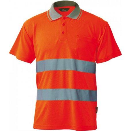 VIZWELL Koszulka polo ostrzegawcza o intensywnej widzialności VWPS01-B