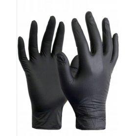 Rękawice Nitrylowe BLACK (100 szt.)