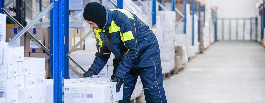Specjalistyczna odzież do pracy w chłodni i mroźni