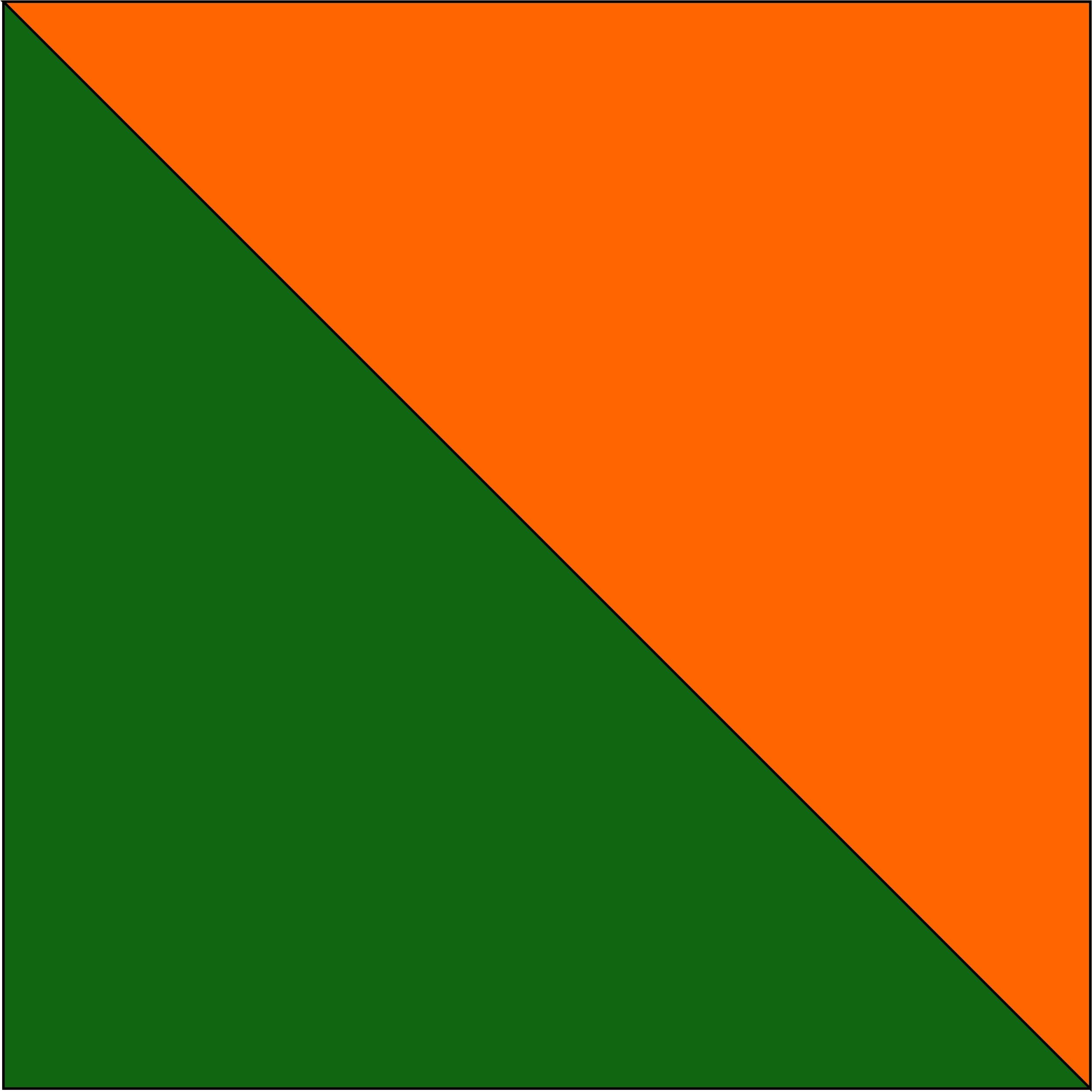 zielony/pomarańczowy