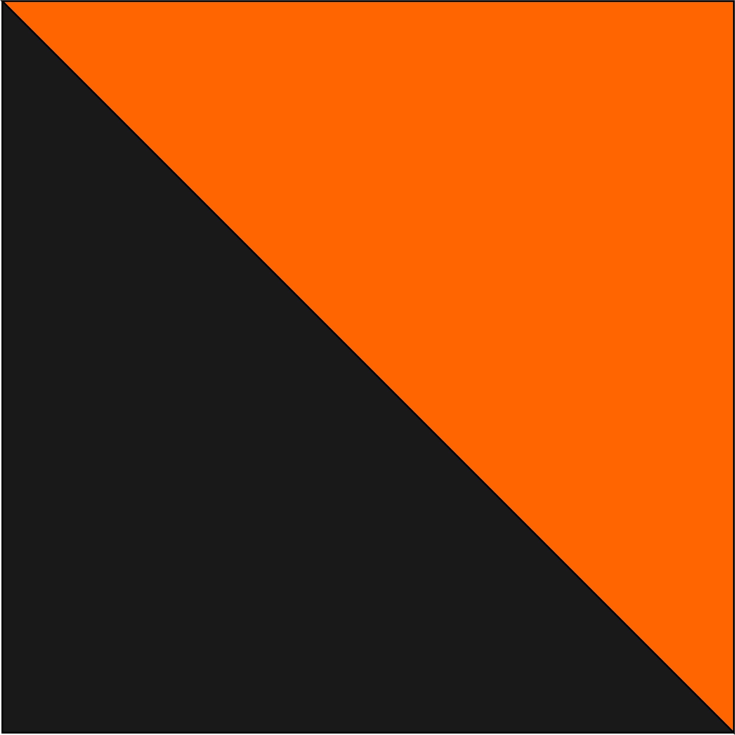 antracytowy/pomarańczowy