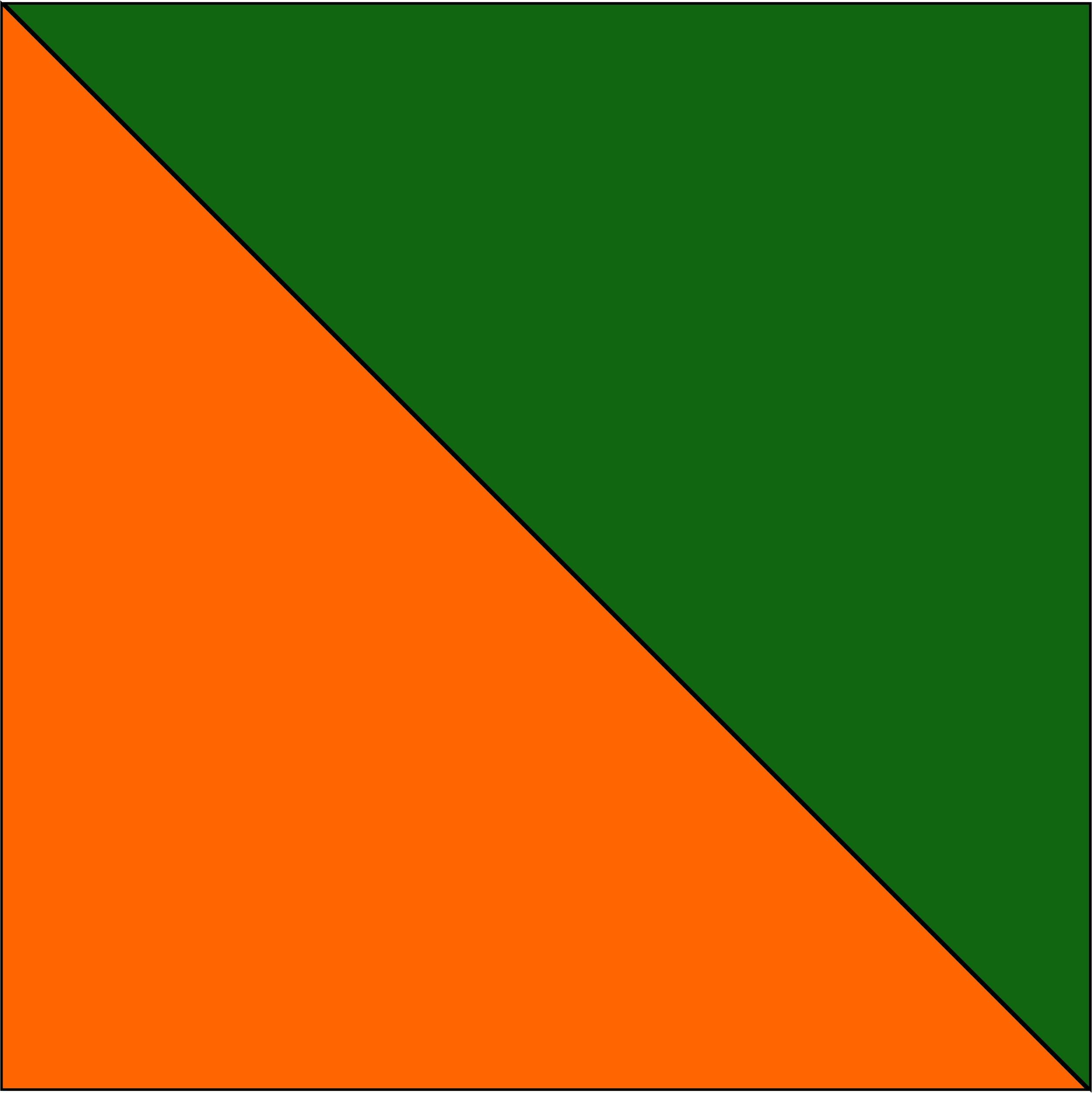 pomarańczowy/zielony