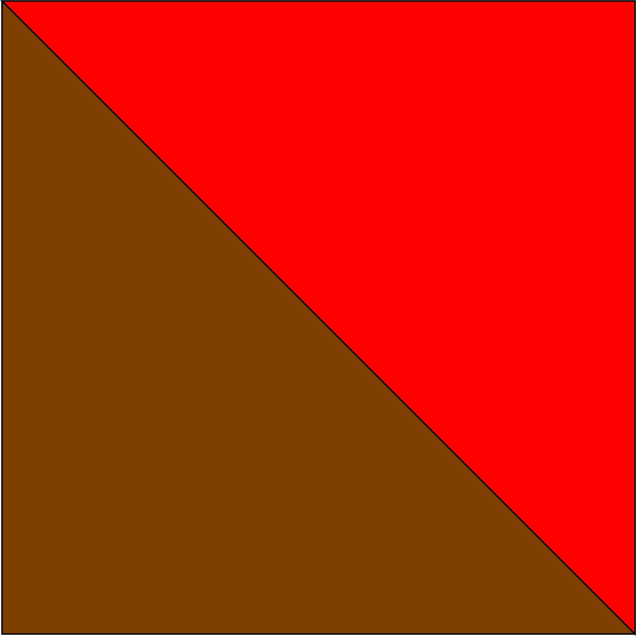brązowy/czerwony