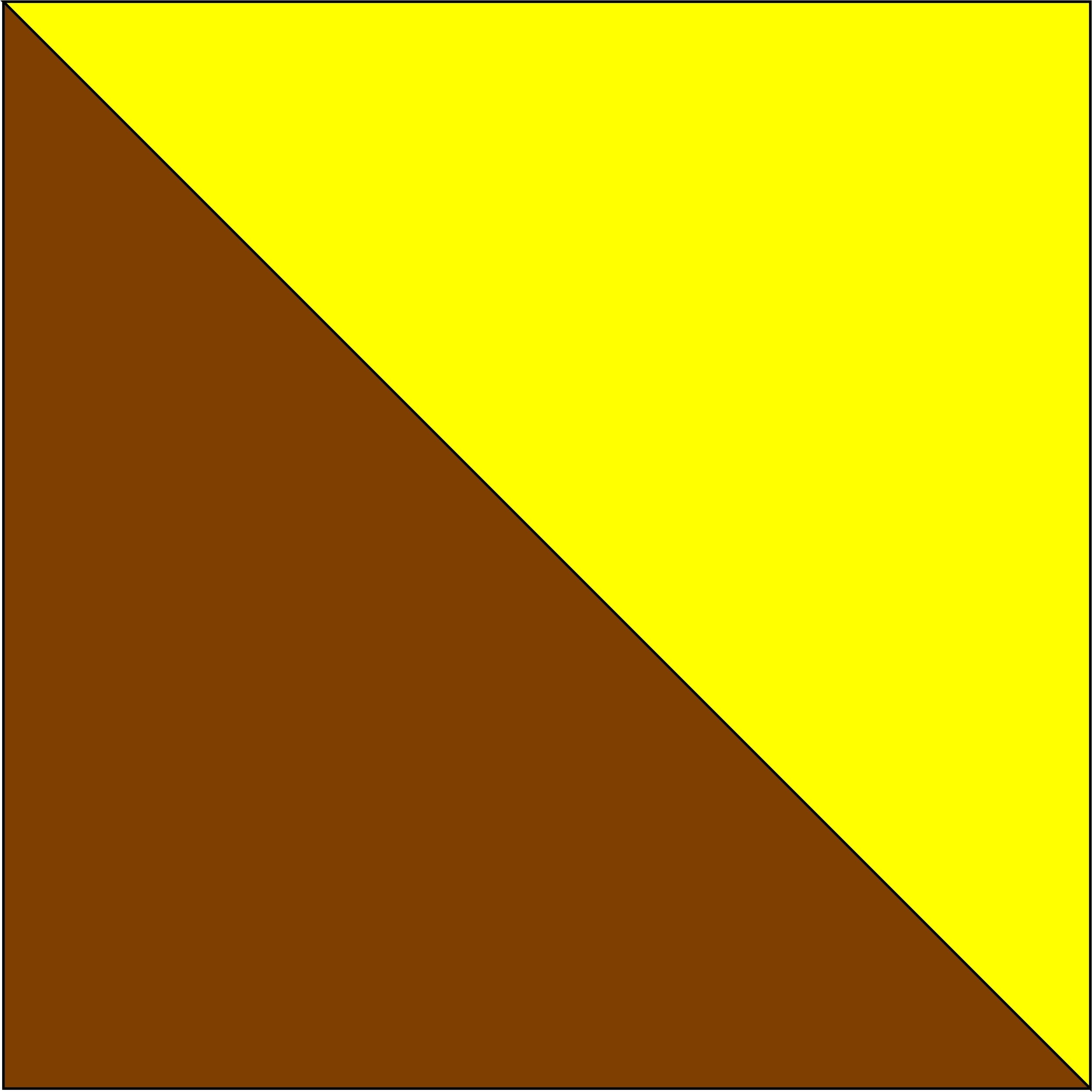 brązowy/żółty