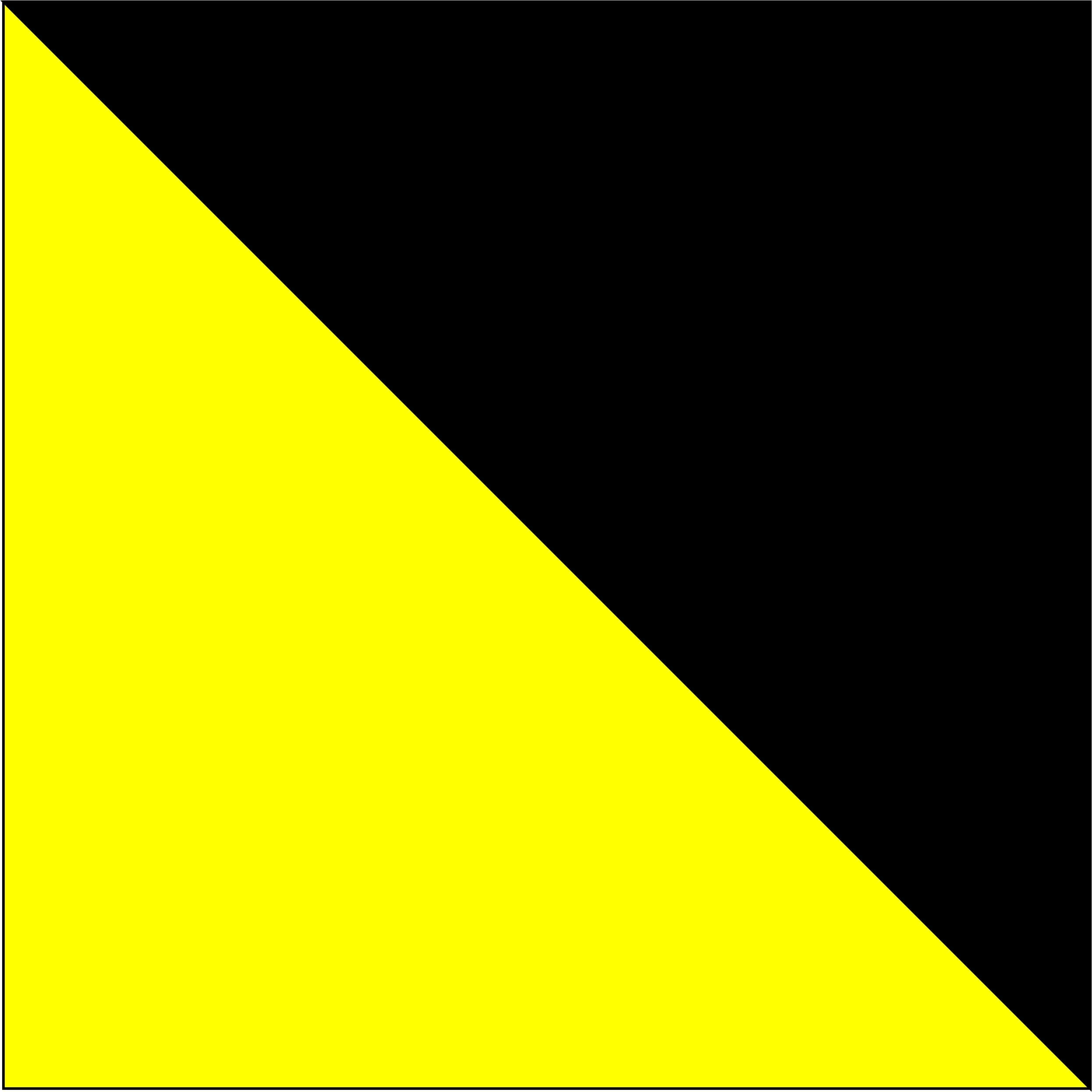 żółty fluorescencyjny/czarny