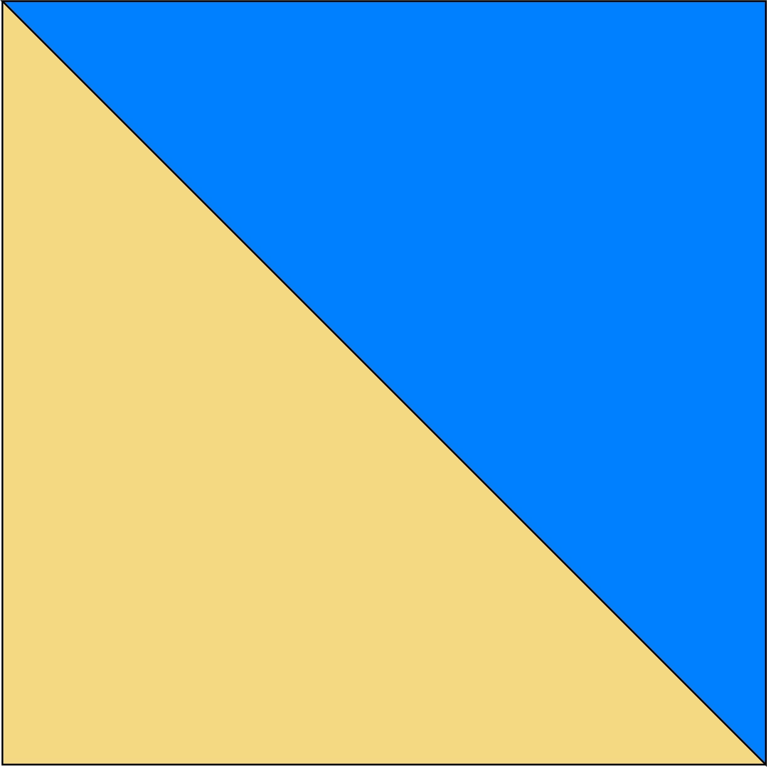 kremowy/niebieski